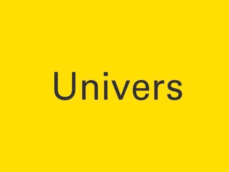 Universe Font Family Free Download