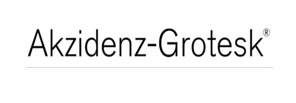Akzidenz Grotesk Font Family Free Download