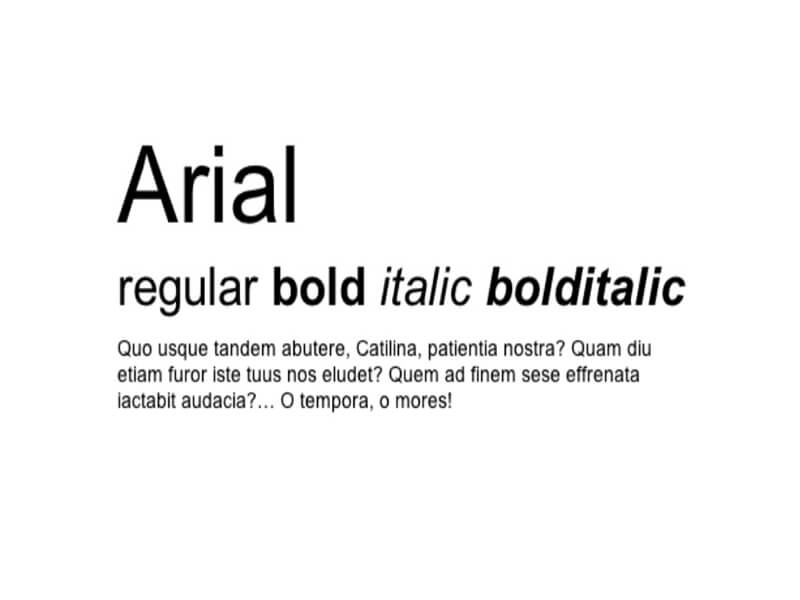 Arial Font Free Download - Fonts Empire