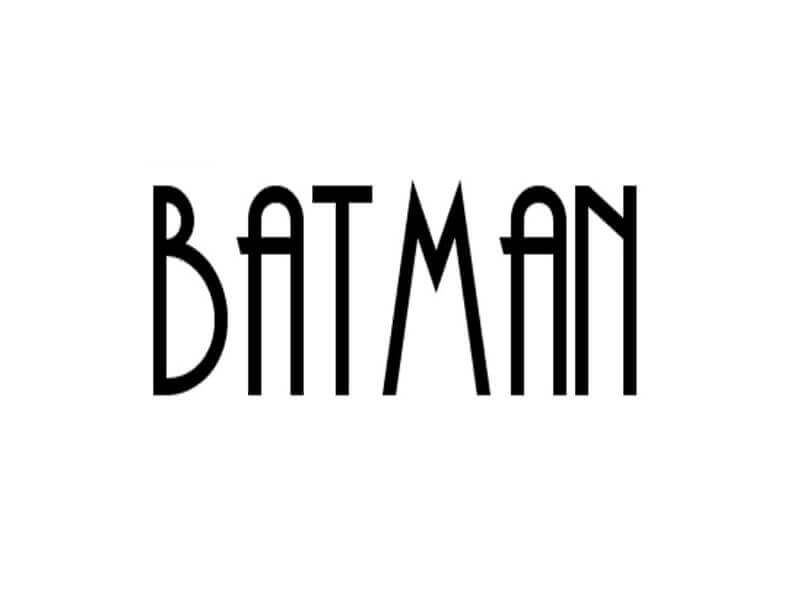 Batman Font Alternative