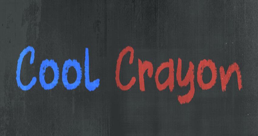 Cool Crayon Font Free Download
