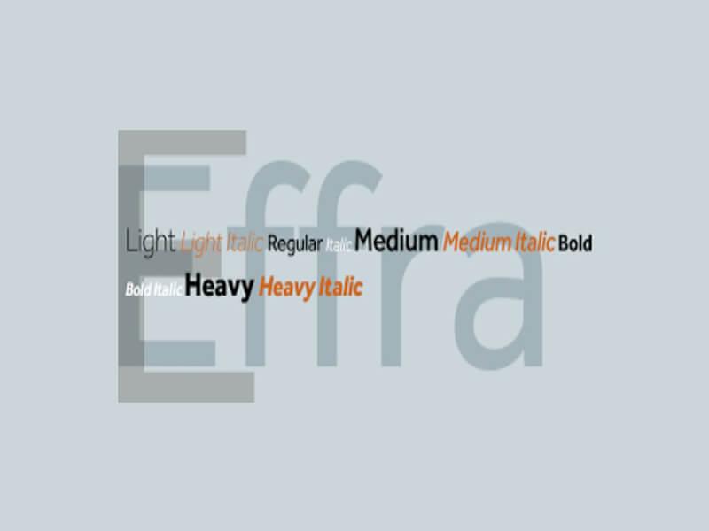 Effra Font Family Free