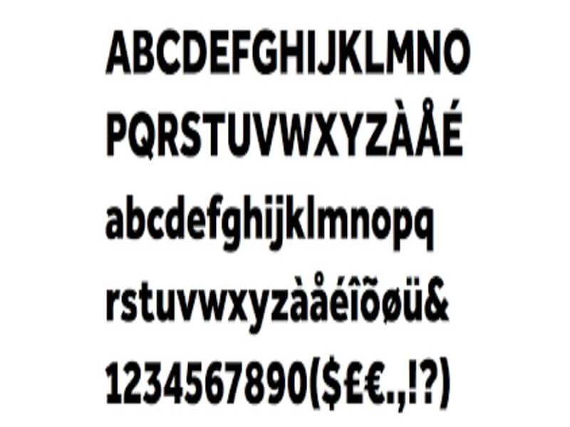 Effra Font Family