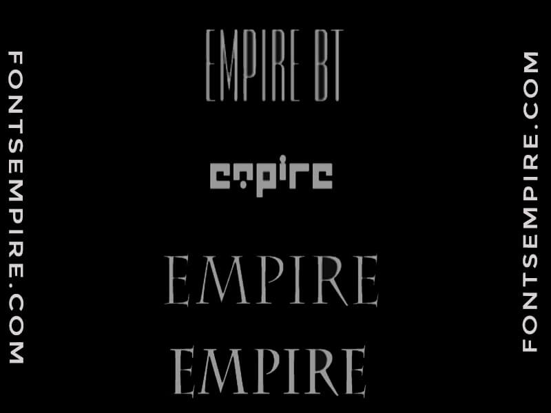 Empire Font Free Download