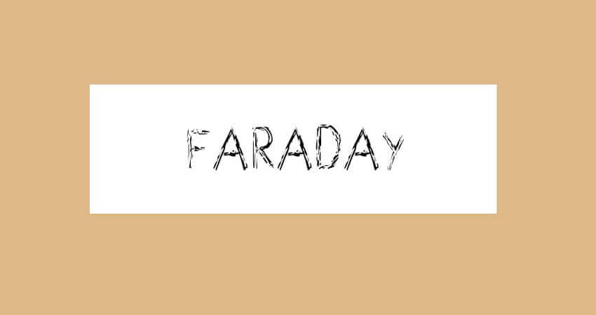 Faraday Font Free Download