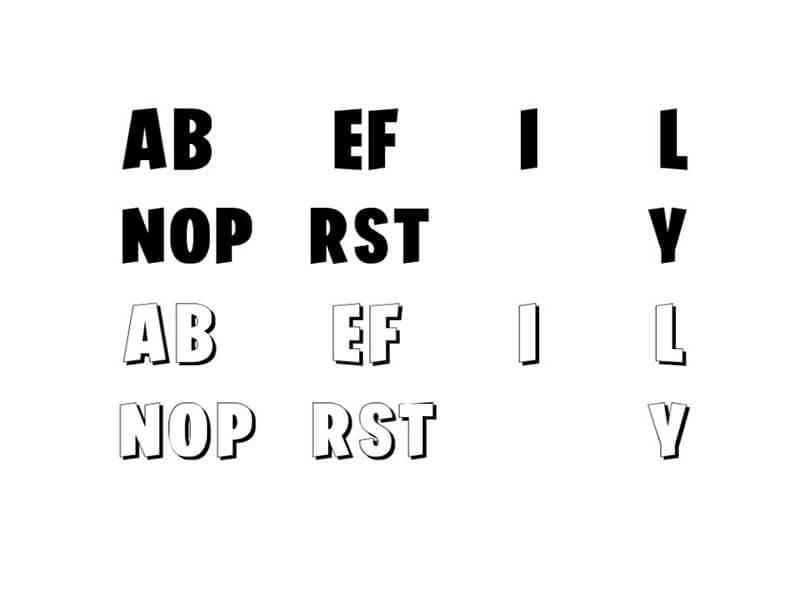 Fortnite Font Free Download - Fonts Empire