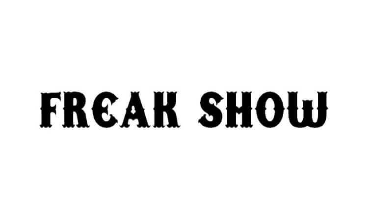 Freak Show Font