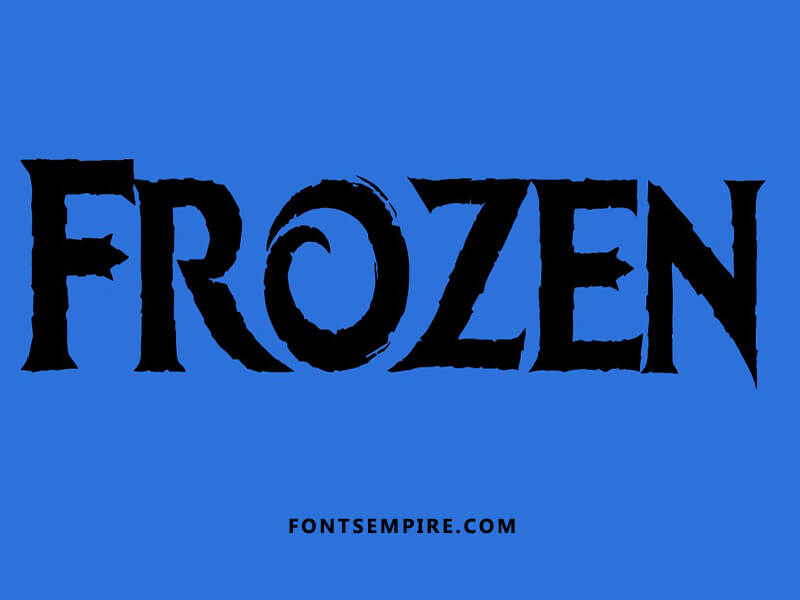 Frozen Font Family Free Download