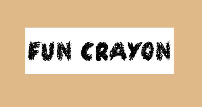 Fun Crayon Font Free Download