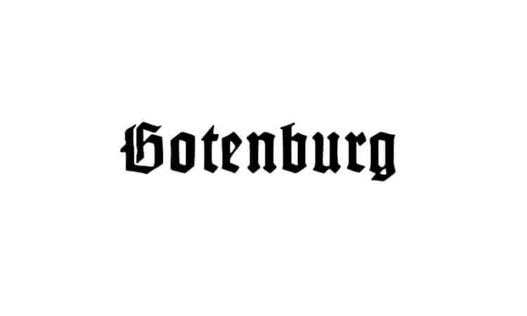 Gotenburg Font