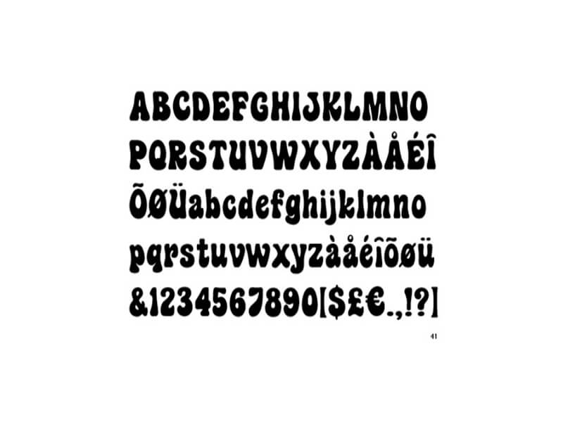 Hippie Fonts