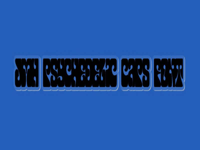JMH Psychedelic CAPS Font
