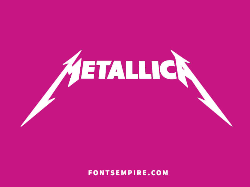 Metallica Font Family Free Download