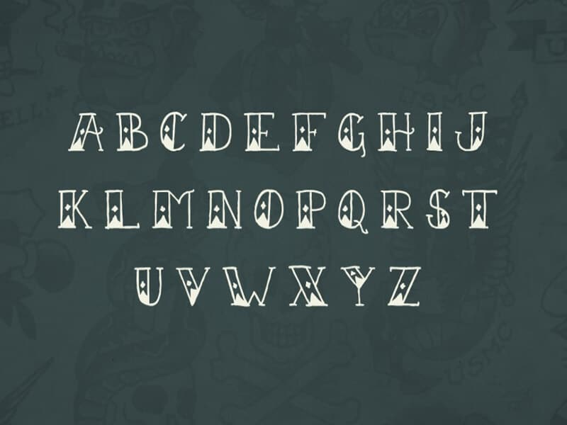Nautical Font Collection