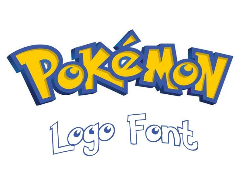 Pokemon Game Logo Font Free Download