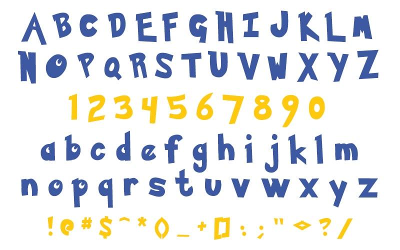 Pokemon Logo Font Free Download