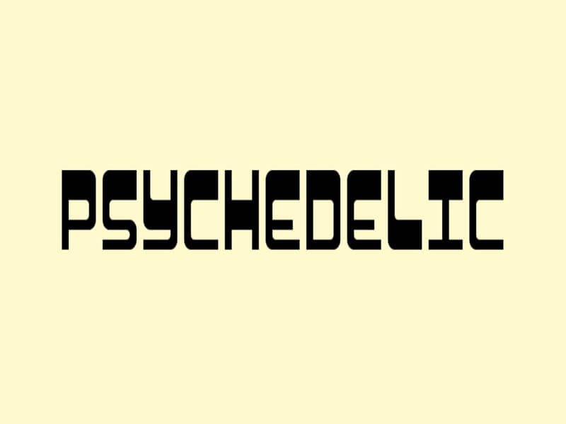 Psychedelic Geronimo Font