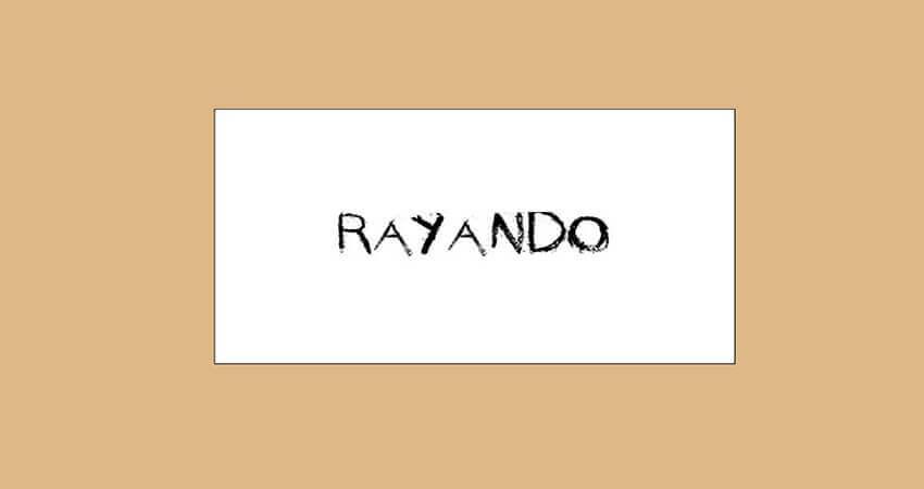 Rayando Font Free Download