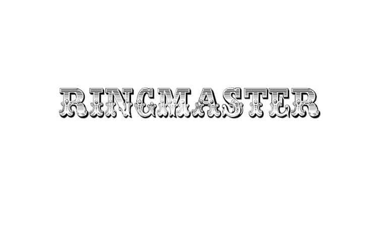 Ringmaster By Jester Font Studio