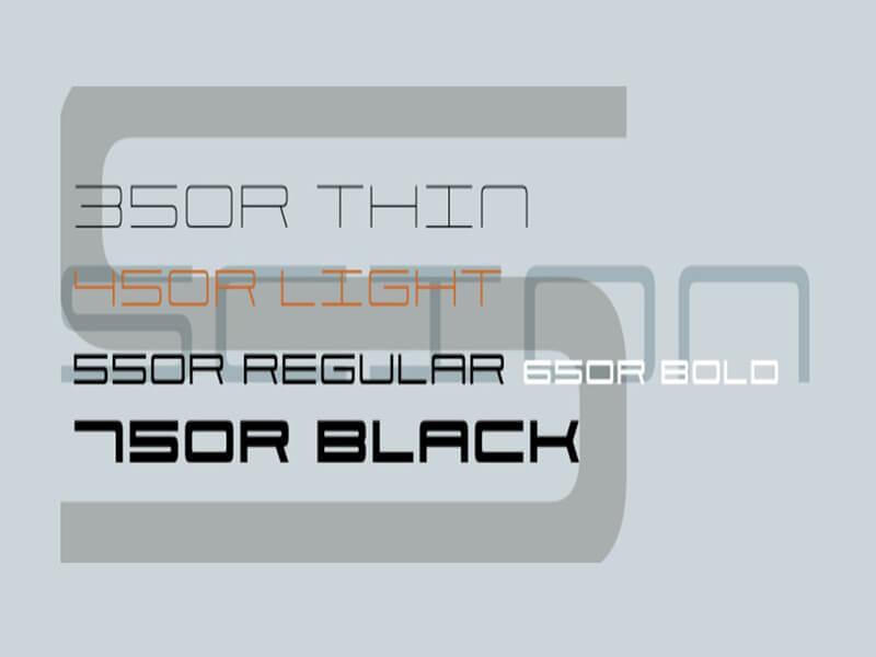 Scion Font Family