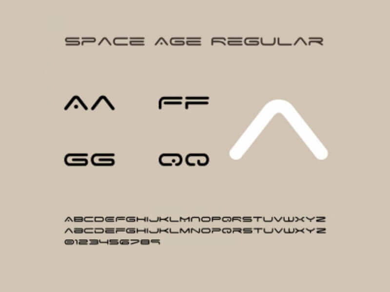 Space Age Font Download