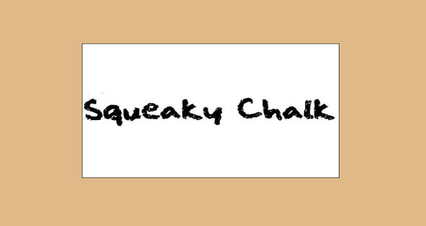 Squeaky Chalk Sound Font Free Download