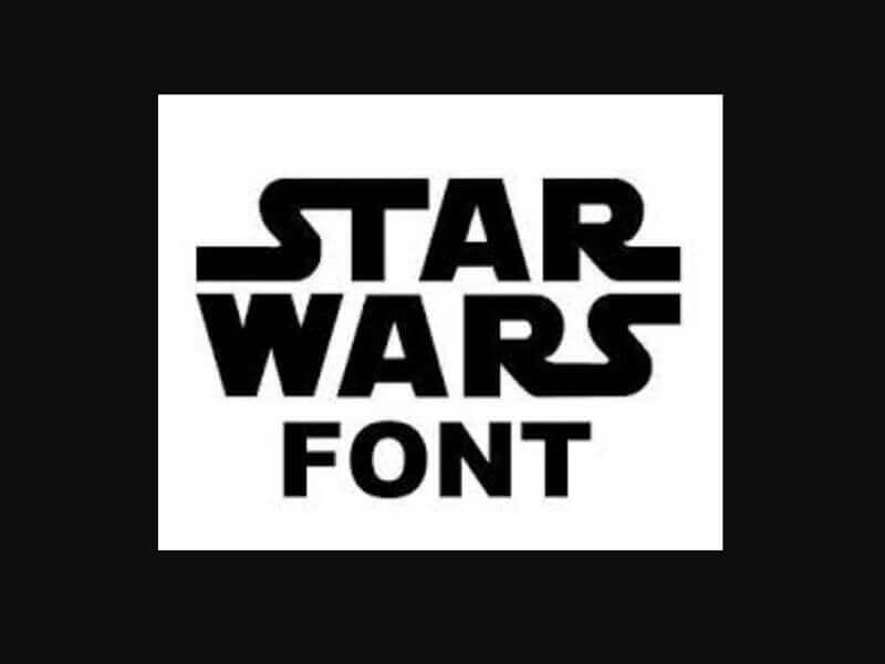 Star Wars Movie Font