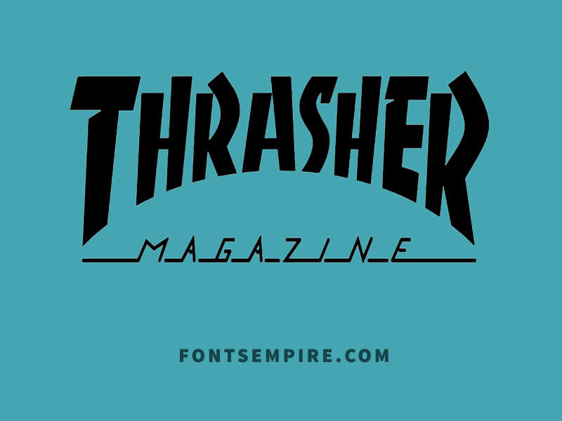 Thrasher Font Family Free Download