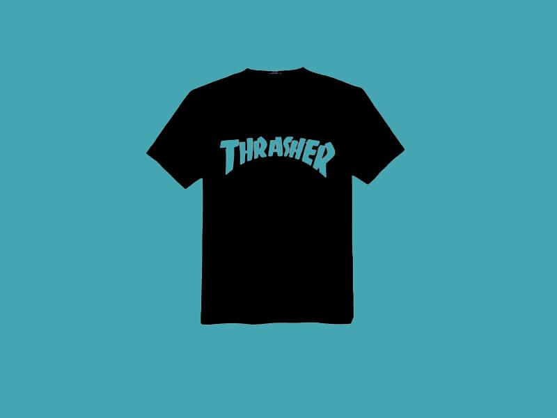 Thrasher Font Family T Shirt