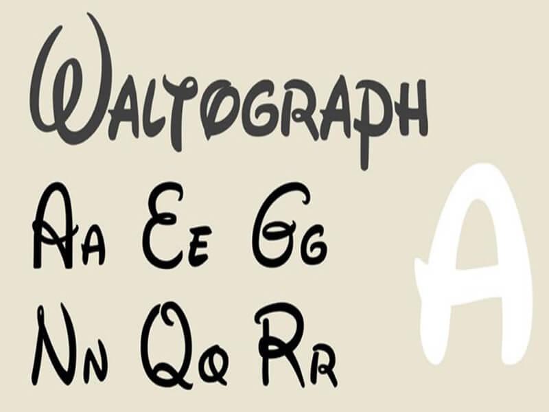 Waltograph Disney Font Download