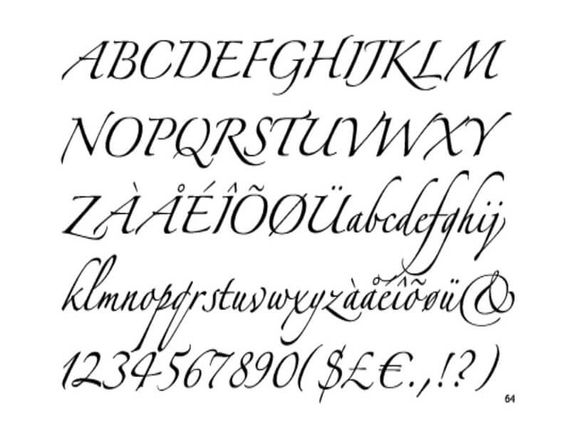 Zapfino Font Family Free
