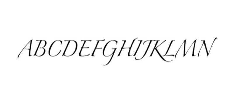 Zapfino Font Free Download - Fonts Empire