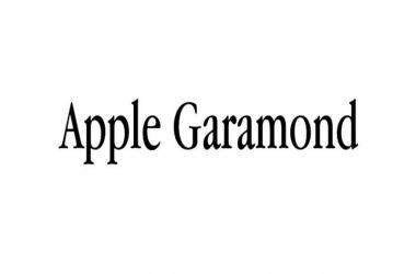 Apple Garamond Font Family Free Download