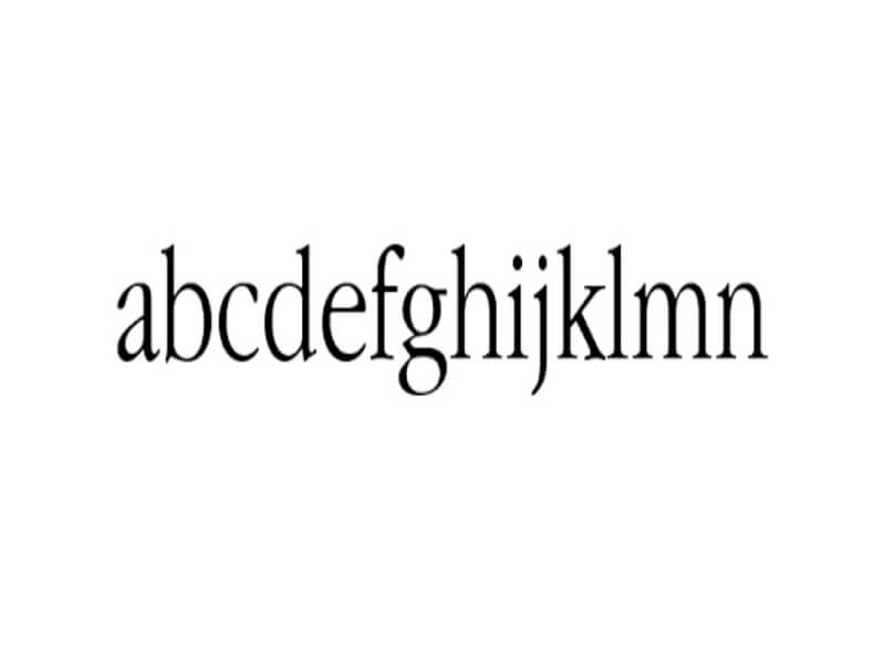 Apple Garamond Light Font Download