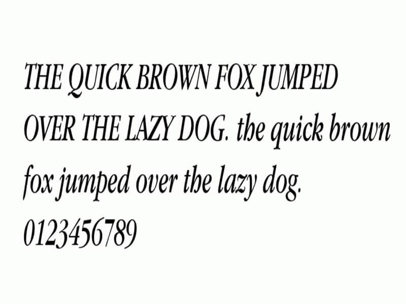 Apple Garamond Italic Font Download