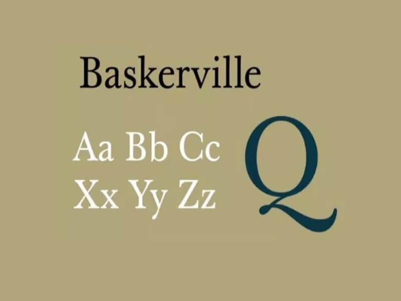 Baskerville Font Free Download - Fonts Empire