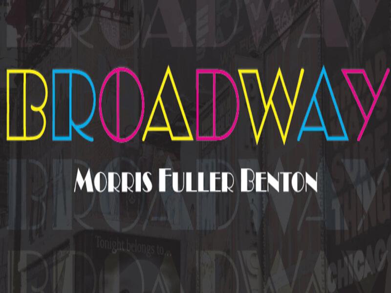 Broadway Font Download