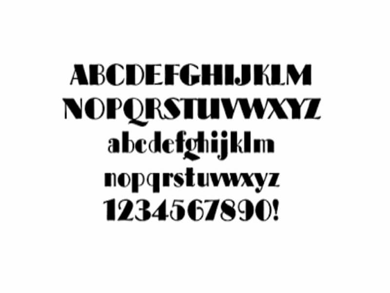 Broadway Font Family Download