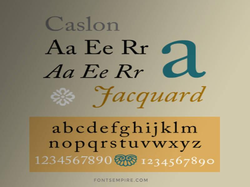 Caslon Font Free Download - Fonts Empire