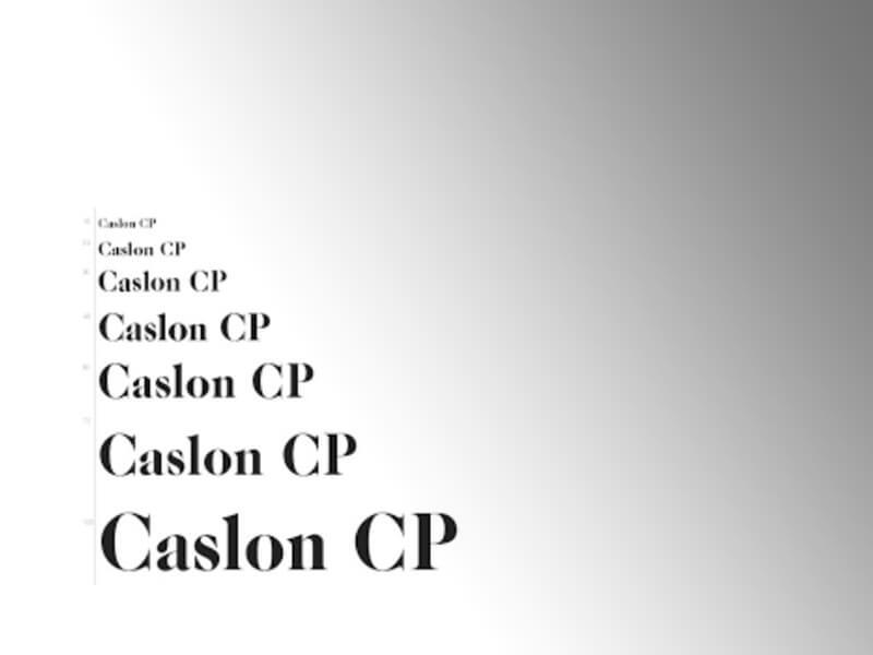 Caslon Font Pairing Download