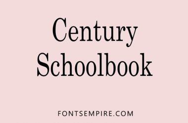 Century Schoolbook Font Family Free Download