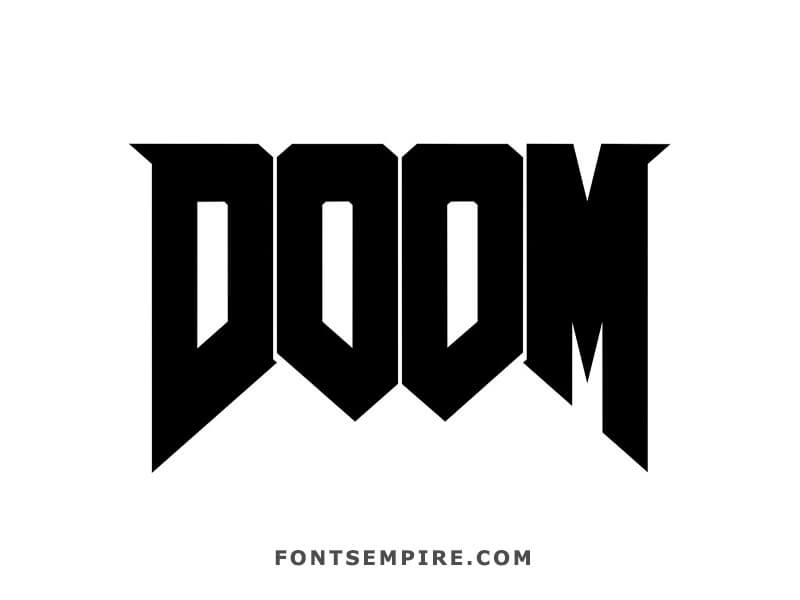 Doom Font Free Download