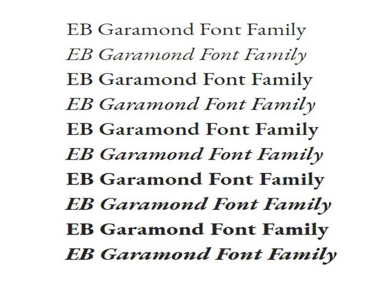 EB Garamond Font Download