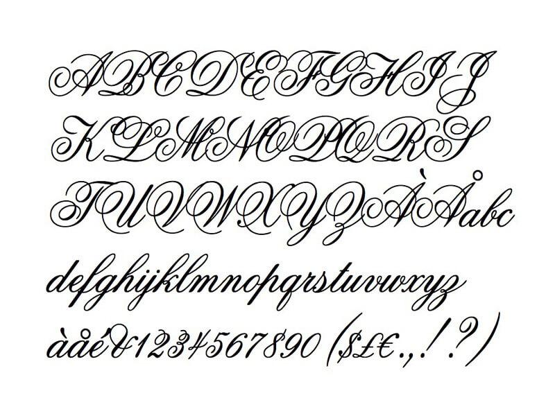 Edwardian Script Font Free Download