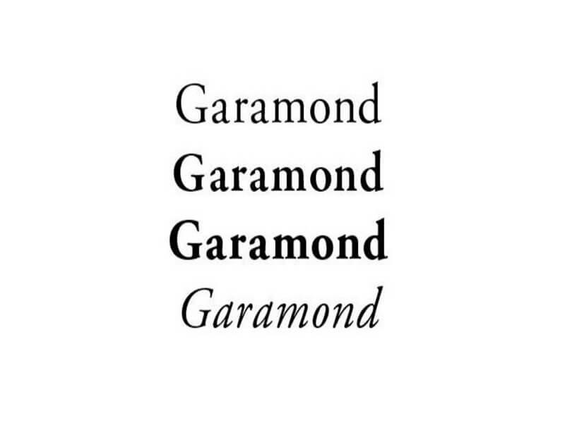 Gramond Font Download