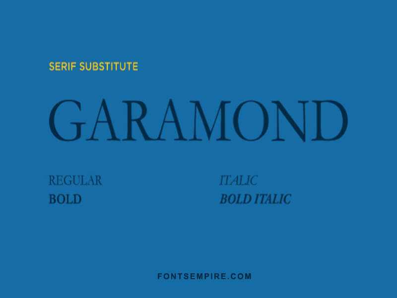 Gramond Font Family Free Download