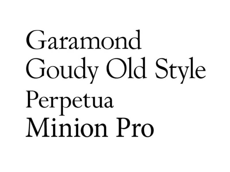 Garamond Font Free Download - Fonts Empire