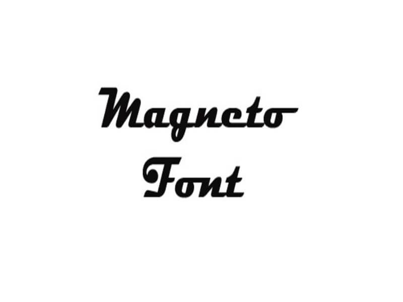 Magneto Font Family Free Download