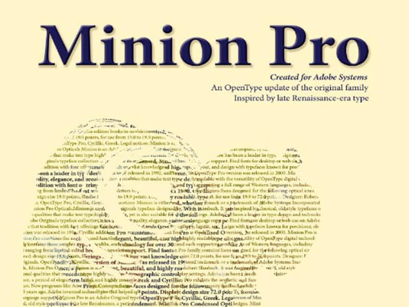 Minion font download free