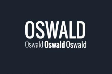 Oswald Font Download